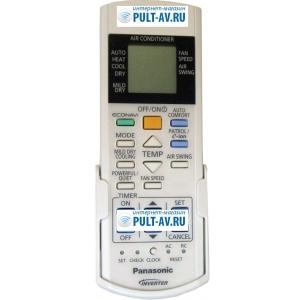 Panasonic A75C3762 пульт для Кондиционер Panasonic CS-E12MKDW, CU-E12MKD