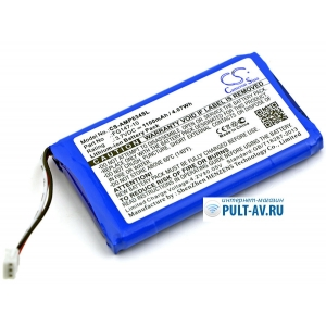 Аккумулятор для AMX Mio Modero remote controls AMX RS634 (CS-AMP634SL, 54-0148-SAFG147-10, MIO-RBP)