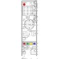 Пульт ДУ FUNAI NF021RD, для телевизор FUNAI LC5-D32BB