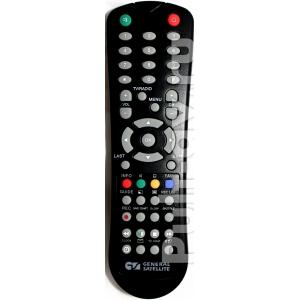 Пульт ДУ для цифровой эфирный приемник General Satellite TE-8714, DVB-T/T2