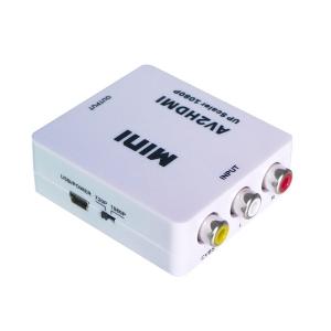 Конвертор-Переходник с HDMI на RCA-тюльпан Mini