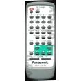 Оригинальный пульт ДУ Panasonic RAK-CH944WK для музыкальный центр Panasonic, SA-KA27, SA-AK27, SC-AK27