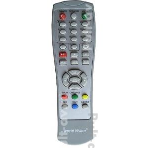 Пульт ДУ для Цифровой эфирный DVB-T2 приемник World Vision T40