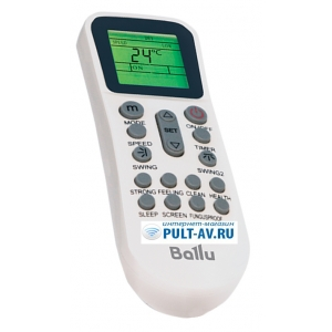 Ballu BSW-24HN1/OL/15Y пульт для кондиционер Ballu
