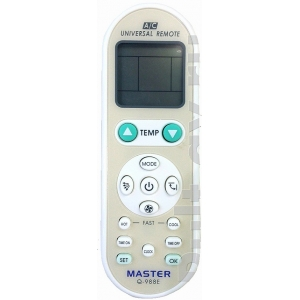 Универсальный пульт для кондиционер MASTER Q-988E UNIVERSAL A,C REMOTE