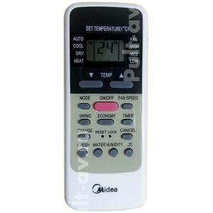 Midea R51C, R51CE, R51D, R51E, R51M, R51MC, R51MBG пульт для кондиционера