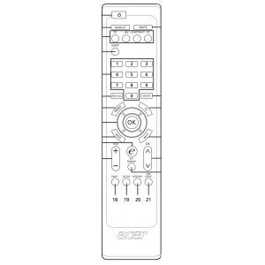 ACER AT4220A пульт для телевизор ACER