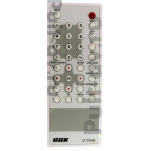 BBK LT118-03, пульт для телевизор BBK LT-1000S