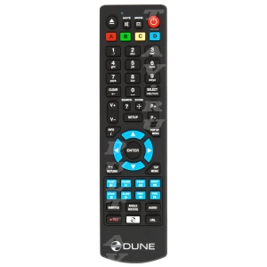 Пульт DUNE HD MAX HD, TV-102, HD TV-301, для медиаплеер DUNE HD