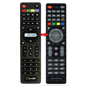 Android TV Box NetUP пульт Android IP STB