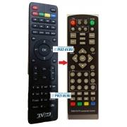 Пульт для DVB-T2 TVjet RE820HDT2 (РЭМО)