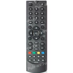Не оригинальный пульт ДУ Elenberg RC42C, для телевизор Elenberg CTV-1515 (CTV1515)
