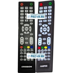 Erisson, Harper AL52D-B, RC19, пульт для телевизор Erisson, Harper 28R575T, 32LES78T2W