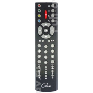 HORIZONT RC560, Сапфир RC560, пульт для телевизор Сапфир 37ТЦ-7211F