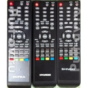 Пульт ДУ для телевизора HYUNDAI H-LCD1510, SUPRA STV-LC2222W, SHIVAKI PDP-4220