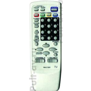 Не оригинальный пульт JVC RM-C1261, для телевизор JVC HV-29JH24