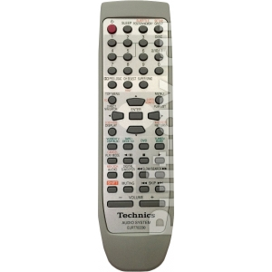 Technics EUR7702290W (EUR7702300), пульт для музыкальный центр Technics SC-DV290EE-S, SC-EH790