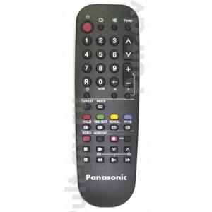 Пульт ДУ PANASONIC EUR51851, для телевизора PANASONIC TX-14S1T