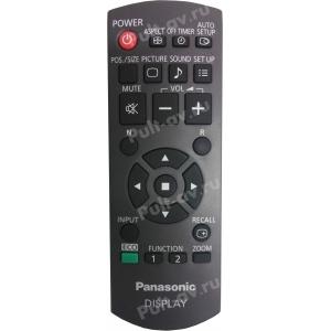 Пульт ДУ Panasonic N2QAYB000691, для плазменный Panasonic TH-70LF50W, TH-80LF50W  LCD Display Monitor