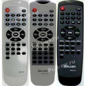 Пульт AKAI, ROLSEN, SOKOL (СОКОЛ) KEX10-C55, KEX1D-C55, KEX1D-C23, KEX2C-C4, для телевизор AKAI 14CT01