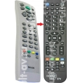 Не оригинальный пульт ДУ Roverscan RC200, для телевизор Roverscan Vision 201