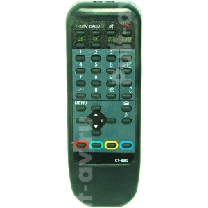 TOSHIBA CT-9992, пульт для телевизор TOSHIBA 21D3XRT
