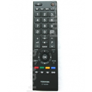 TOSHIBA CT-90329, пульт для телевизор TOSHIBA 32AV700A LCD
