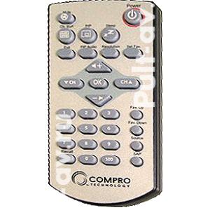 Пульт для ТВ-тюнер Compro VideoMate  V150, V150F (аналог)